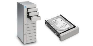 LaCie 12big ATX Tower packs up to 96TB of storage