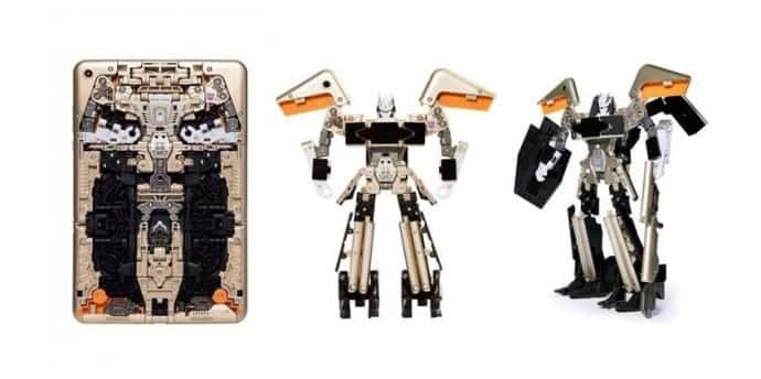 Xiaomi's new tablet can turn itself into a Transformer robot