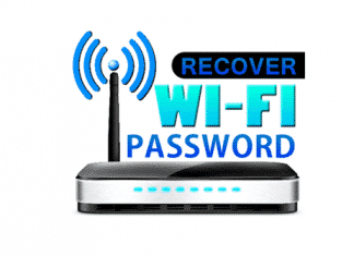 Recover Lost WiFi Password