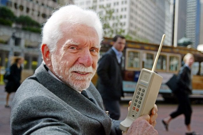 Inventor of the cell phone has provided insight on what to expect next