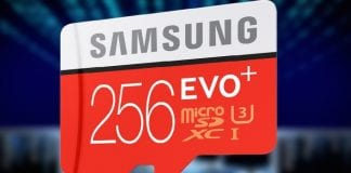 Samsung Launches EVO Plus 256GB MicroSD Card, highest capacity in its class