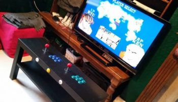 Build This Two-Player Arcade Table from a Raspberry Pi and IKEA Parts