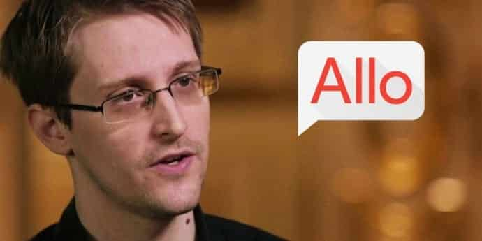 Edward Snowden warns the privacy risks of Google's new messaging App, 'Allo'