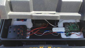 Reddit user creates a solar powered Rpi server that runs 24/7