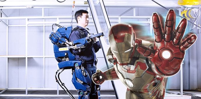 Hyundai has an Exoskeleton that will make you feel like Iron Man
