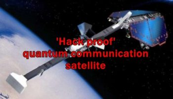 China is readying to launch its first 'hack proof' quantum communication satellite