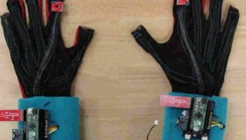 Sign language gets a modern twist with these gloves