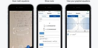 Point your smartphone at an equation and solve it with Mathpix App