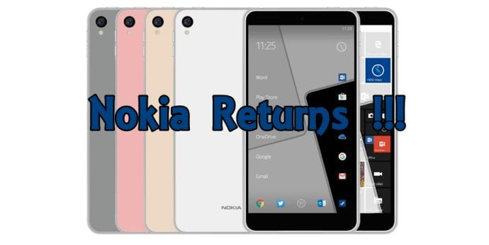 Nokia is back in the smartphone and mobile phone business