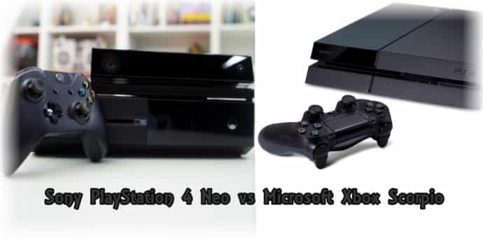 Gamers alley : Sony PlayStation 4 Neo vs Microsoft Xbox Scorpio