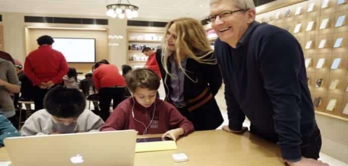 Apple CEO Tim Cook Says Coding Should Be Second Language For Primary School Kids