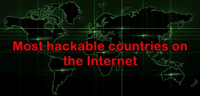 Researchers discover the most hackable countries on the Internet