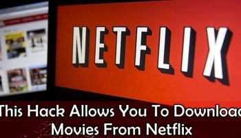 Download movies from Netflix and Amazon Prime using Google Chrome bug
