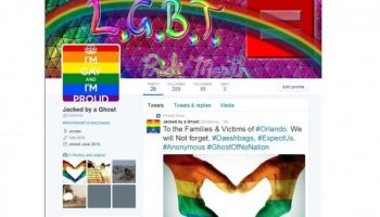 Anonymous bombards ISIS Twitter accounts with Rainbows after Orlando Killings