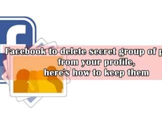 Facebook to delete a secret group of photos from your FB Profile, here's how to keep them