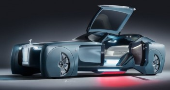 Rolls Royce unveils its driverless concept car