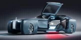 Rolls Royce unveils its driverless concept car