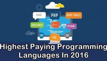 15 Highest Paying Programming Languages In 2016