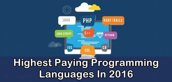 15 Highest Paying Programming Languages In 2016