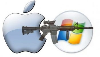 Apple and Microsoft reportedly removed a rifle emoji