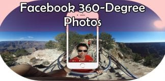 How to create, view and upload 360-degree photos on Facebook