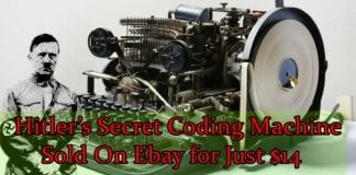 Historic Nazi Coding Machine Of Hitler Sold On eBay For Just $14
