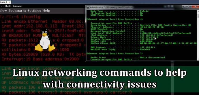 Five Linux networking commands to help with network connectivity issues