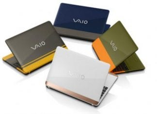 Vaio reveals C15 series laptop with striking colours
