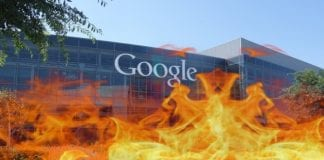 Man facing criminal charges after trying to set Google HQ on fire