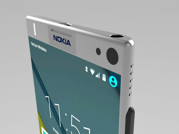 Nokia P1 Android Smartphone Alleged Press Renders Leaked
