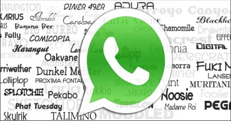 WhatsApp to get a new Font but you can use it right now with
