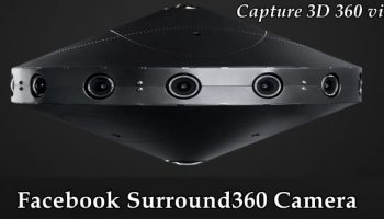 How to build a VR 360 Camera, Facbeook just open sourced its blueprint