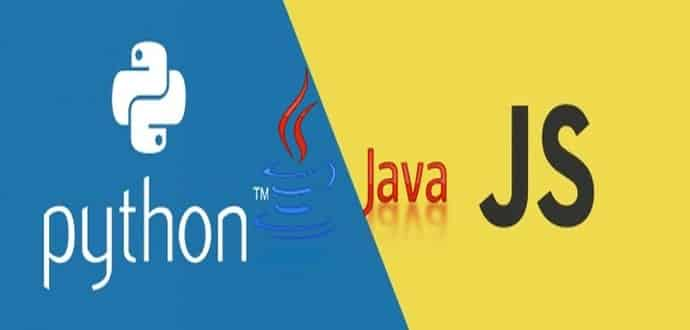 JavaScript, Python and Java are today's top 3 programming languages