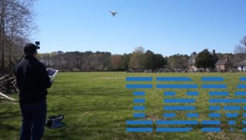 IBM shows an employee hack for collecting live video data via drone
