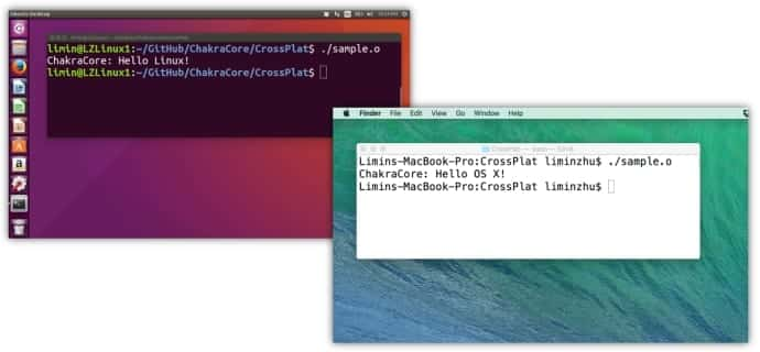 Microsoft is bringing ChakraCore JavaScript engine to Linux and OS X