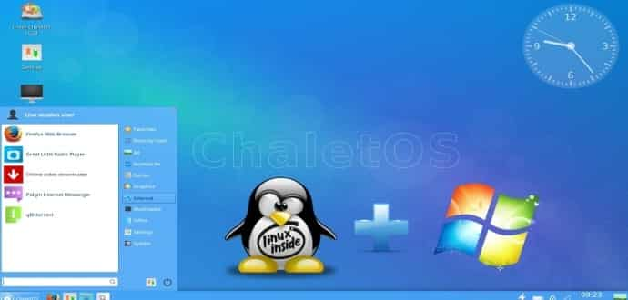 ChaletOS: A Linux that Provides Uncanny Resemblance to Windows 7