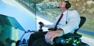 AI beats a human fighter pilot in an air combat simulator