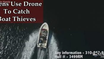 Teens Use Drone To Track And Catch Boat Thieves