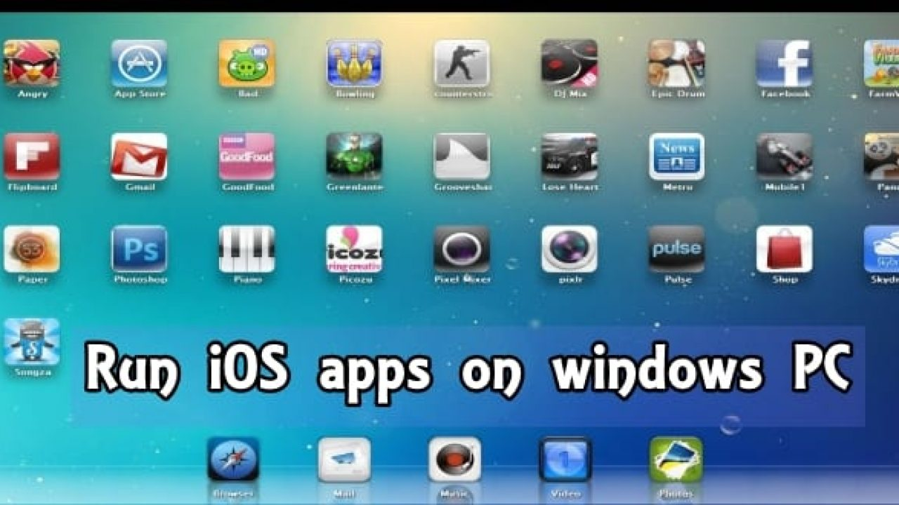 how to get iphone apps on laptop