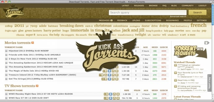 kickass torrents community latest torrents