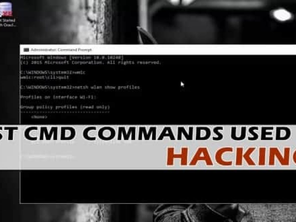 Best Cmd Commands Used In Hacking New Working List