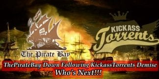 The Pirate Bay down, Is it next after Kickass Torrents demise?