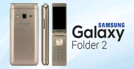 Flip Phone Makes A Comeback With Samsung Galaxy Folder 2