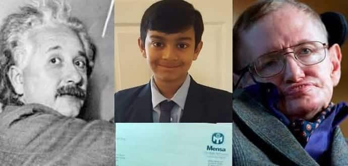 10-year-old boy achieves maximum possible score of 162 in Mensa IQ test