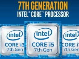 Intel launches it's 7th generation Kaby Lake Core i7 processor