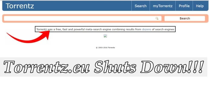 Torrentz.eu follows KickassTorrents, shuts down