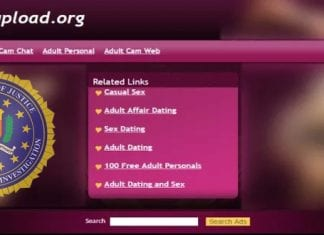 The FBI's Megaupload Domains Are Now Hosting NSFW Ads