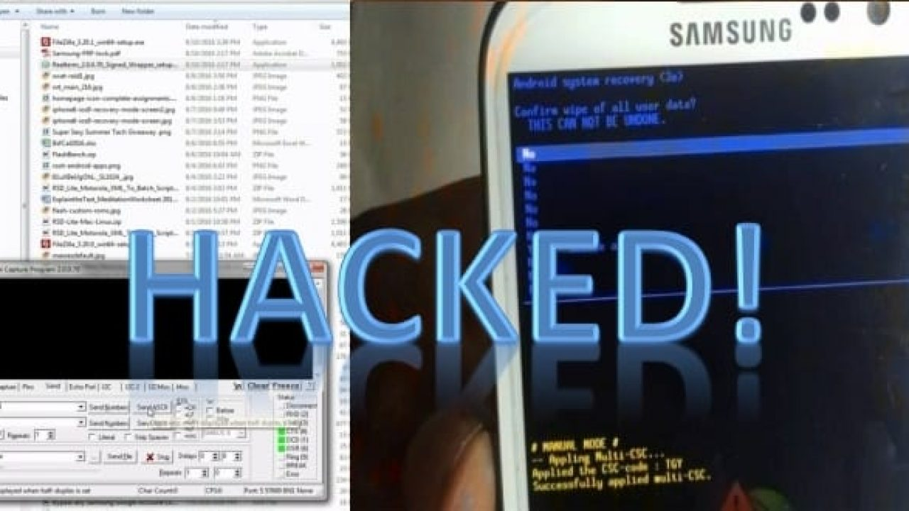 Any Samsung smartphone can be factory reset remotely with