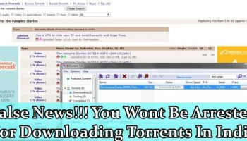 False News, Indian authorities wont jail you for visiting a blocked website, downloading torrents