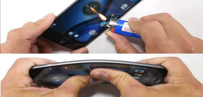Moto Z, The World's Thinnest Smartphone, Undergoes Bend And Torture Test